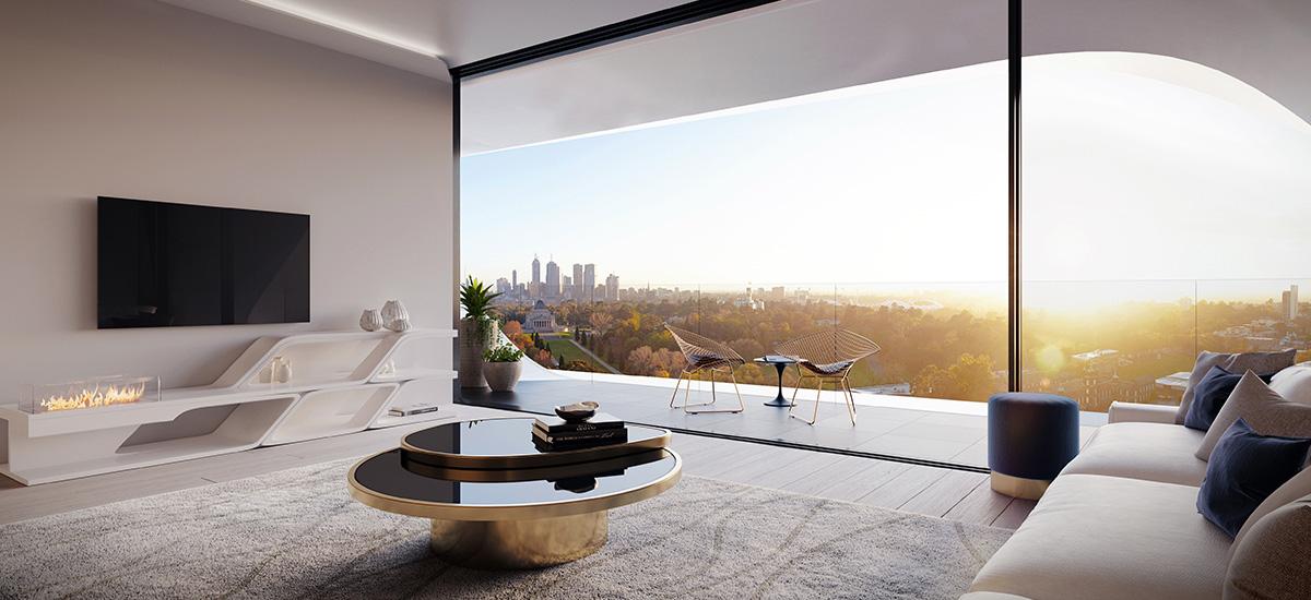 Mayfair Melbourne Interior Livingroom