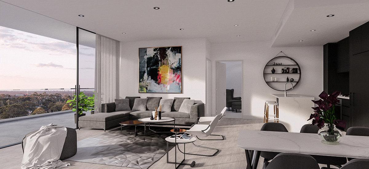 Monika Macquarie Park living room
