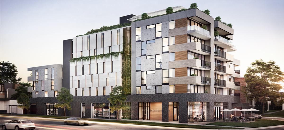 Moreville building exterior