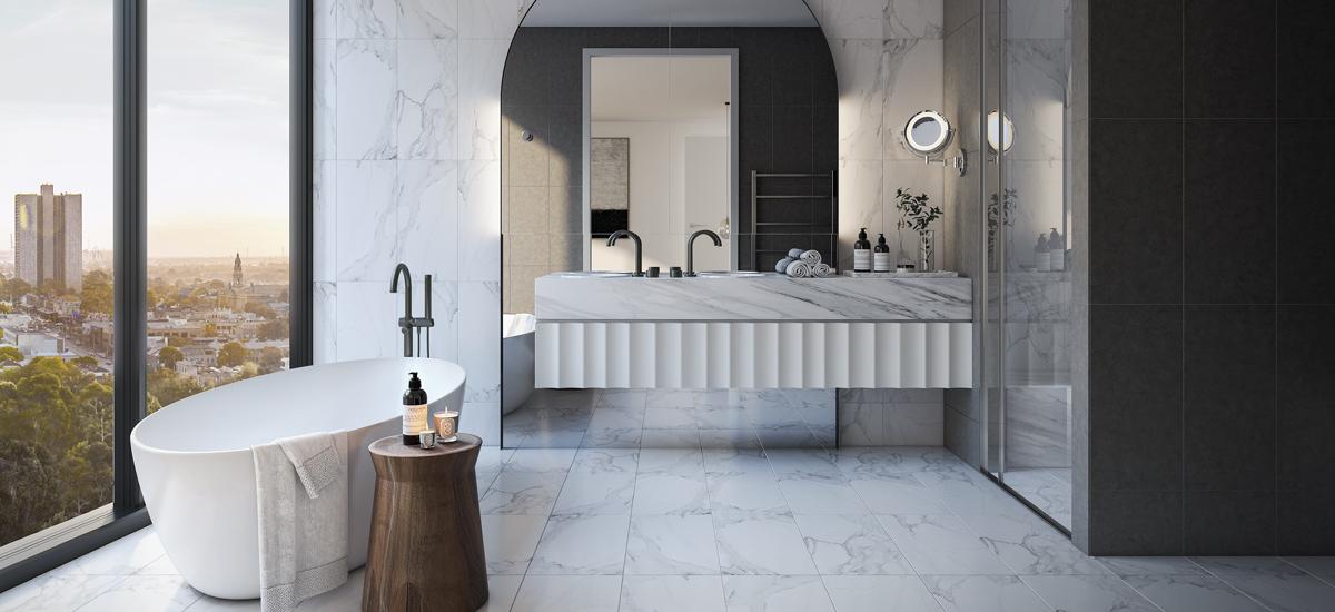 Oasis residences bathroom