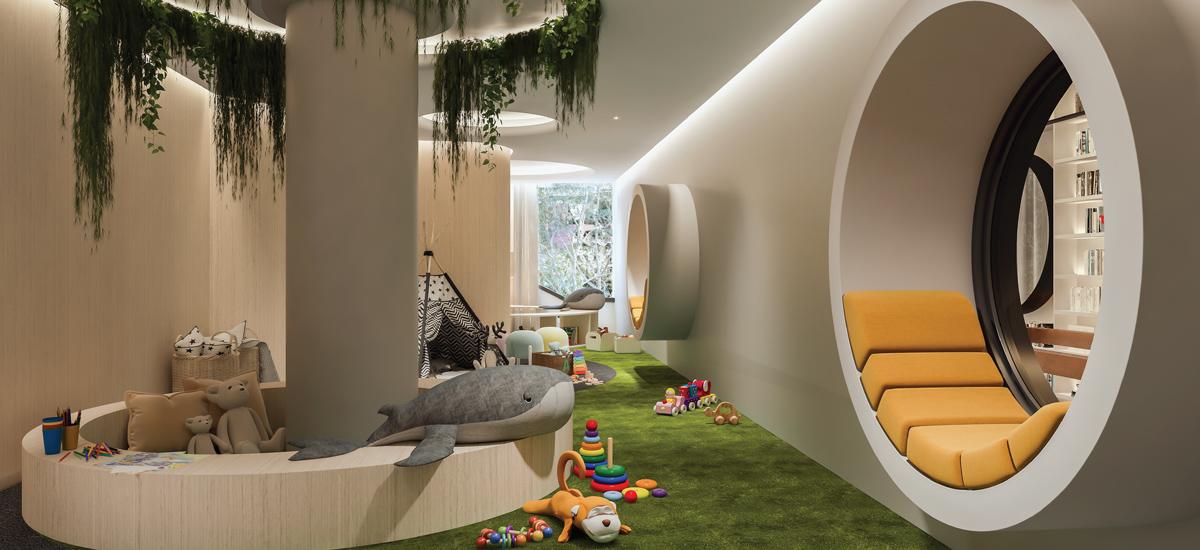 Oasis residences kids room