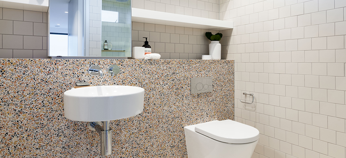 One A Erskineville bathroom