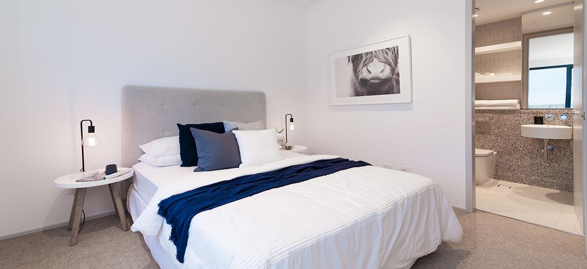 One A Erskineville bedroom