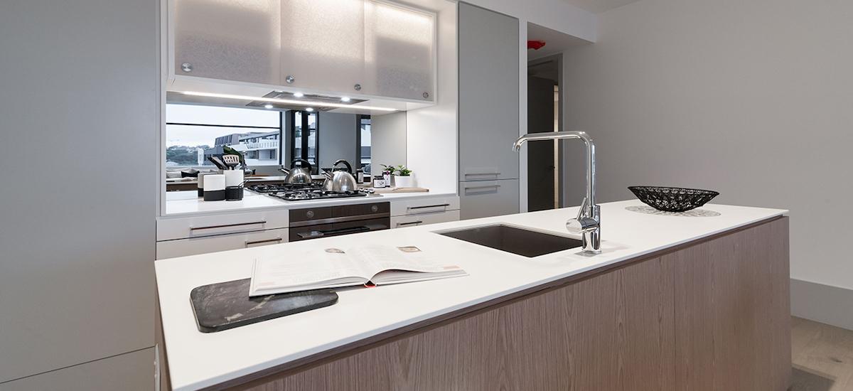 One A Erskineville kitchen