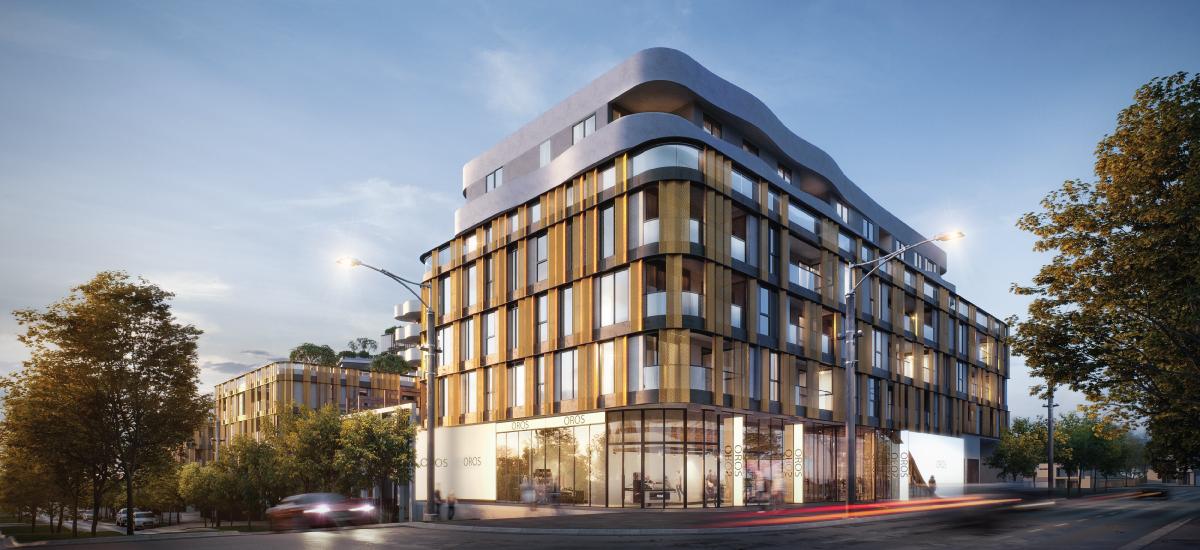 Oros+ building exterior