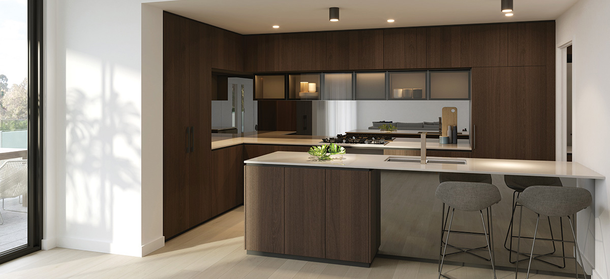 Pavilion Green apartment kitchen