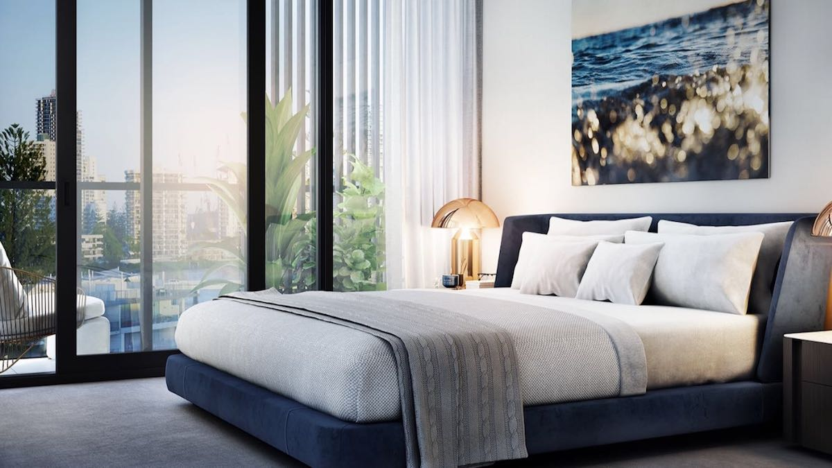 off the plan apartment Peninsular Residences bedroom