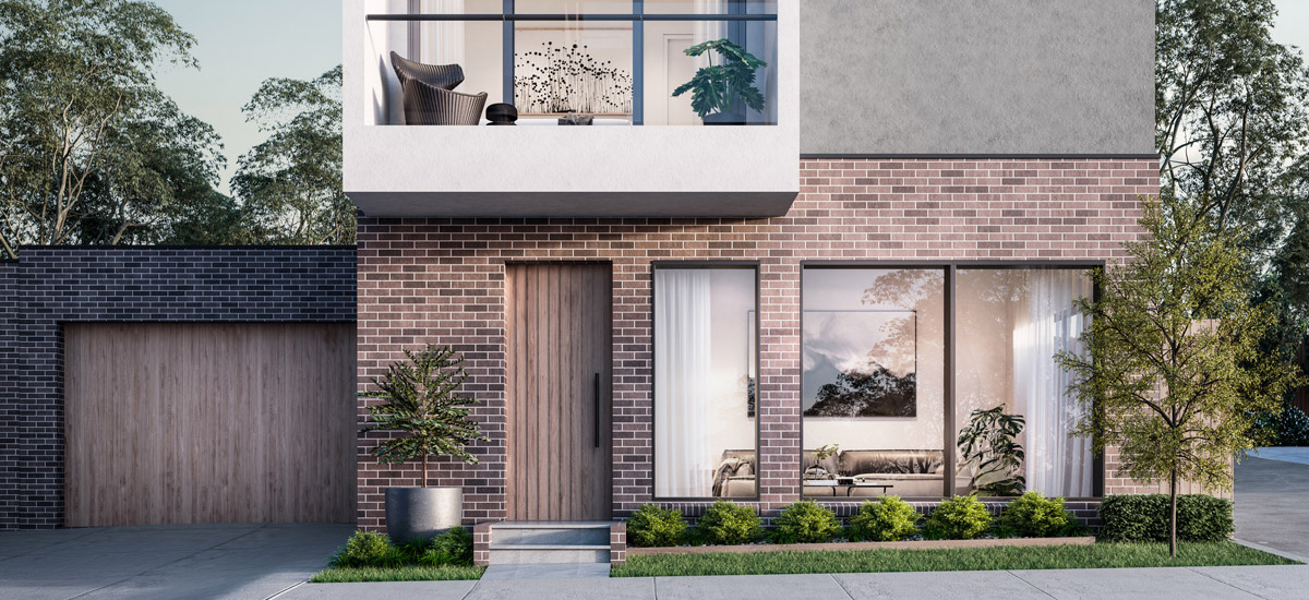 off plan apartment for sale Regent Homes building exterior in Blackburn Victoria