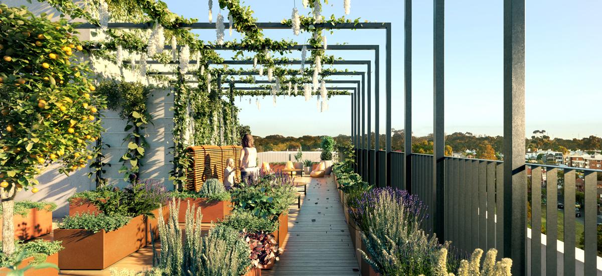 17 union street edible garden rooftop amenity