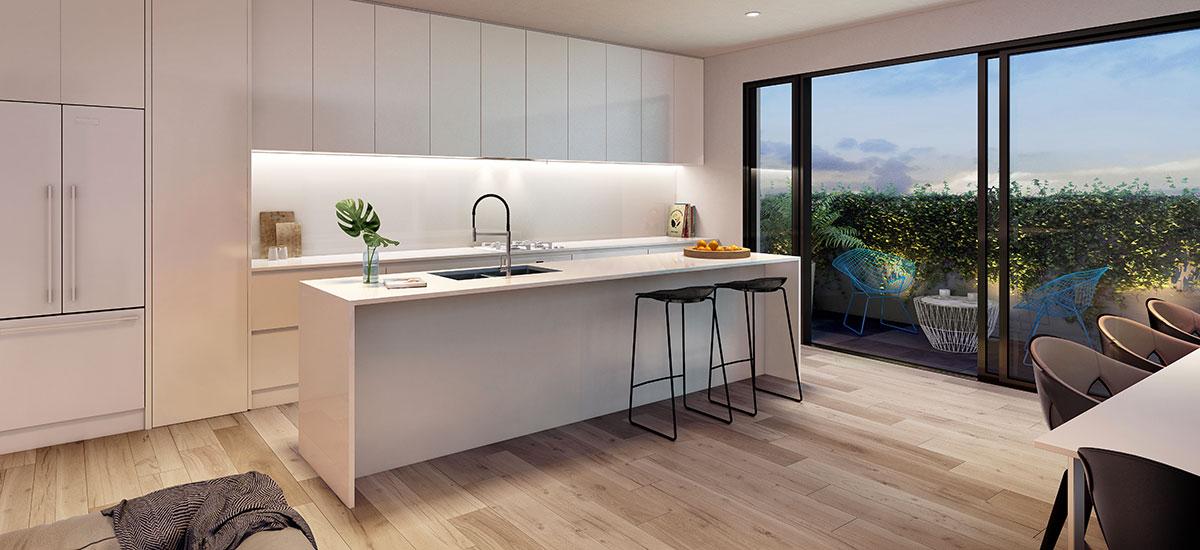 olson apartments kitchen