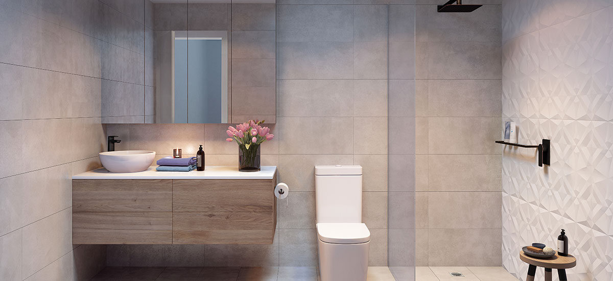olson apartments bathroom