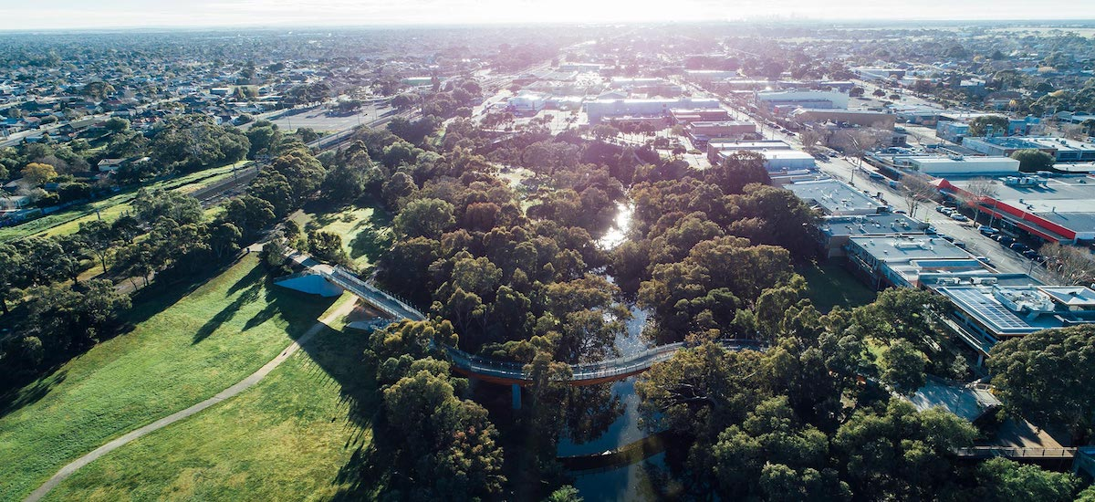 RiverEdge surrounding parks