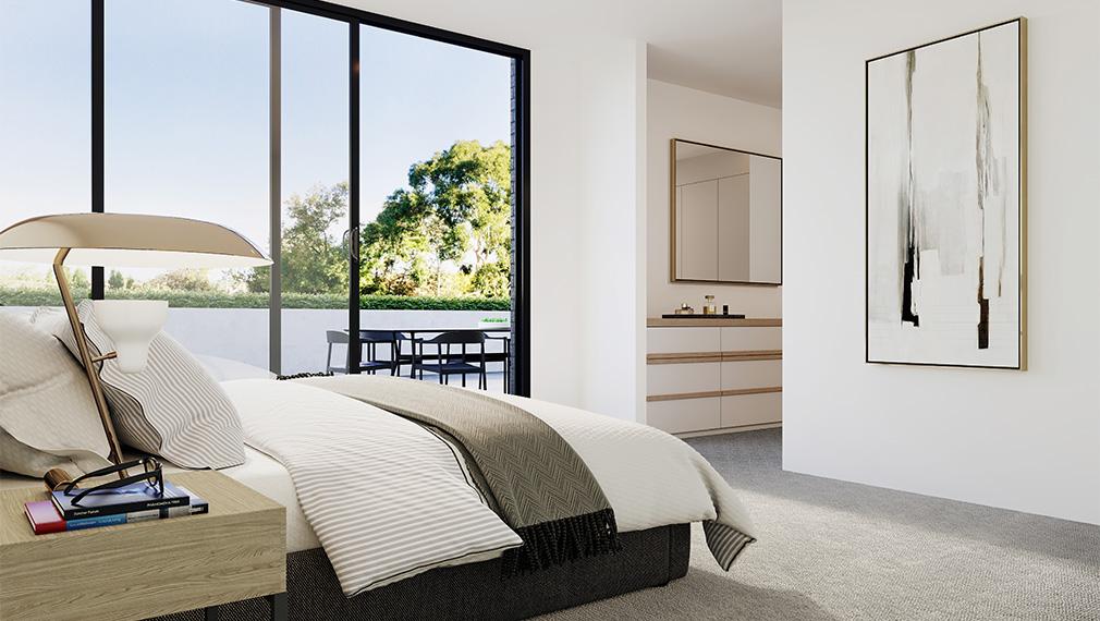 wattletree apartment bedroom malvern melbourne
