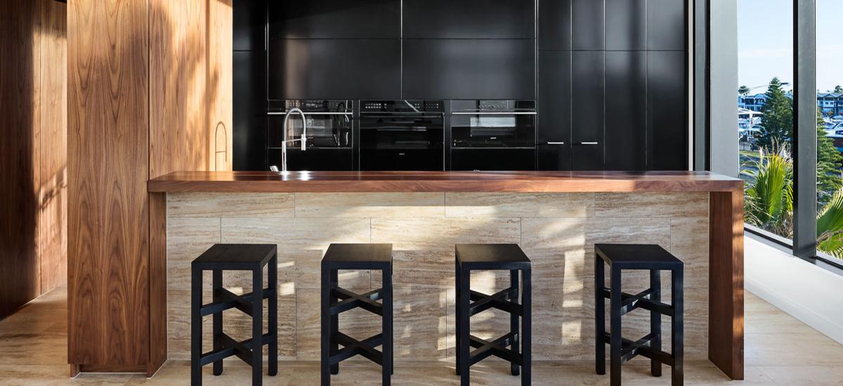 35 Marine Parade penthouse kitchen