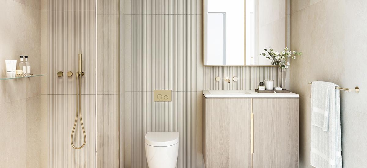 555 Collins bathroom