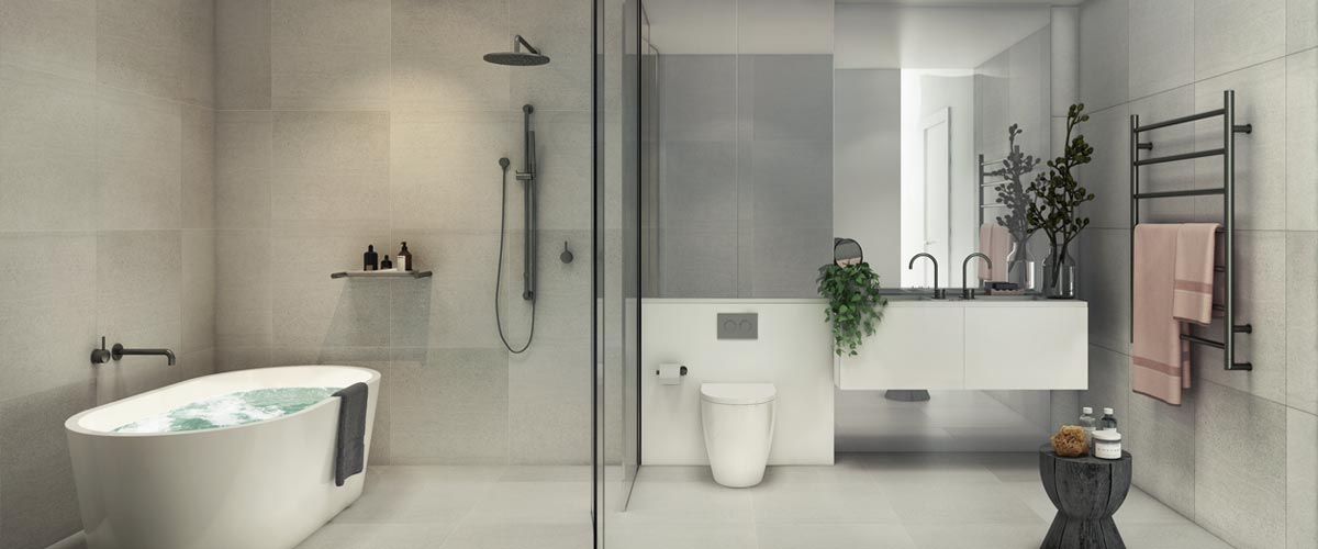 Alara Residences bathroom