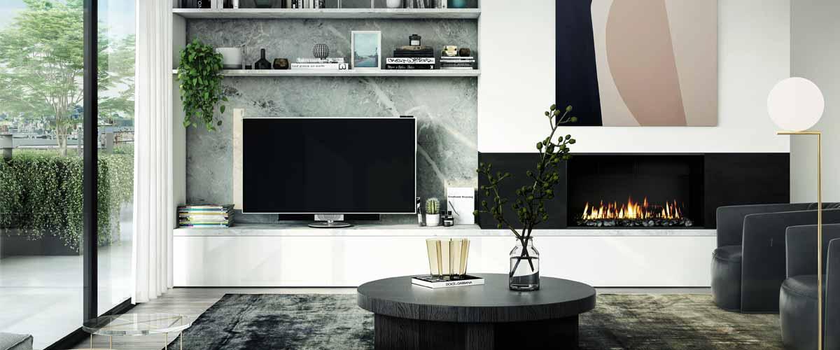 Alara Residences living room