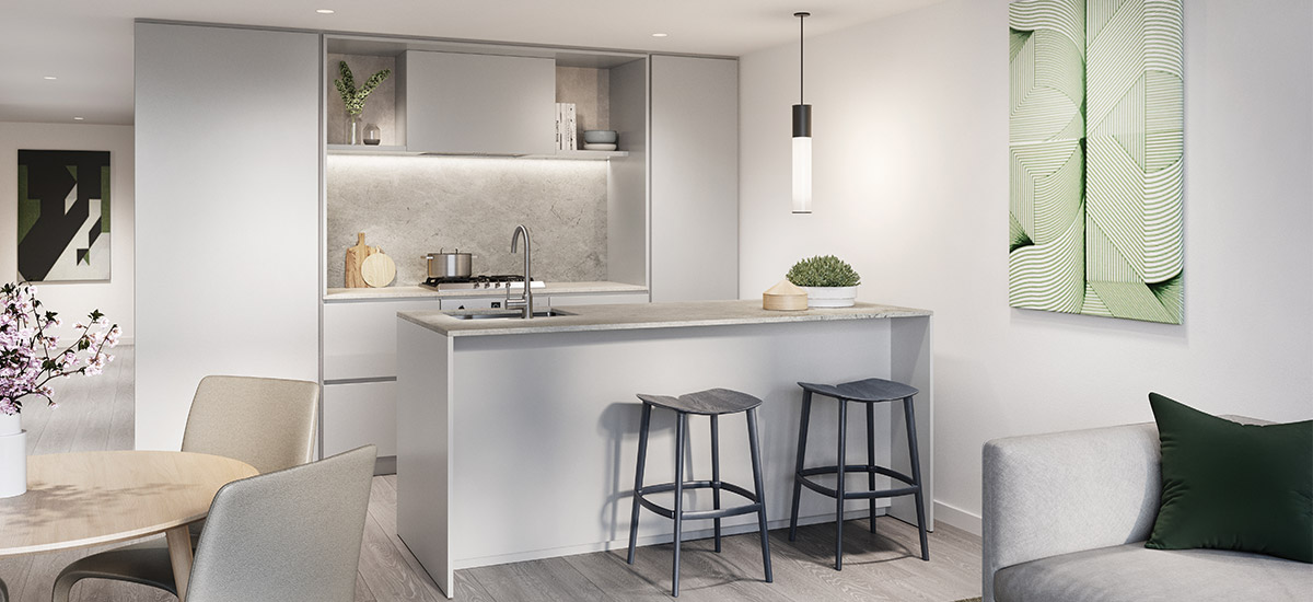 luxury kitchen bentleigh alba apartments melbourne