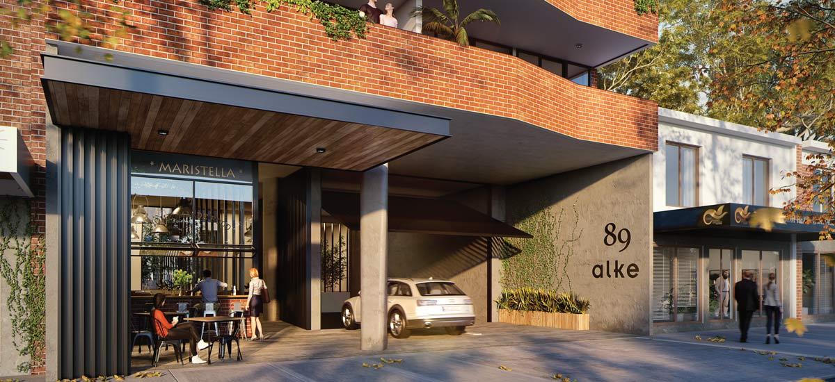 alke oakleigh apartments cafe
