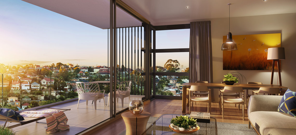 Anew apartments in Sydney's suburb Rockdale