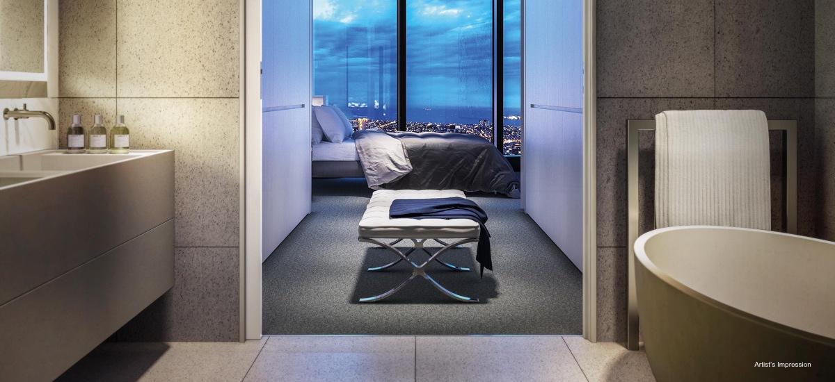 Australia 108 ensuite and bedroom