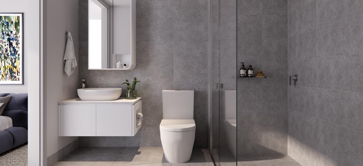 B.E. Apartments bathroom