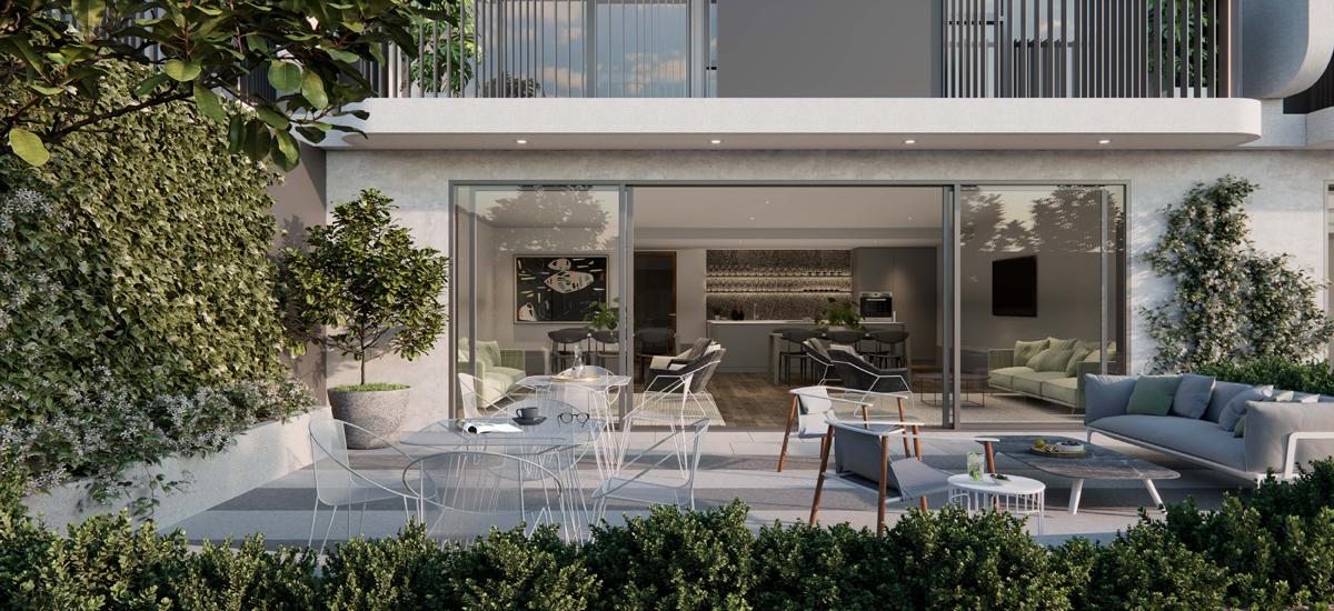 B.E. Apartments terrace