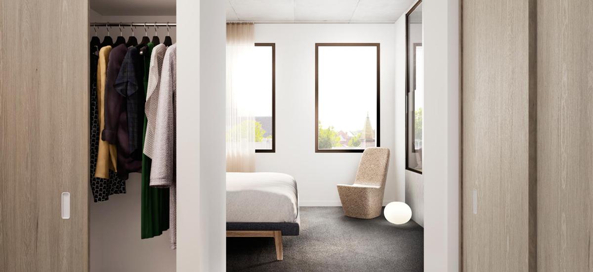 Bedford by Milieu bedroom