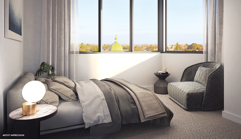 bijou camberwell apartments bedroom