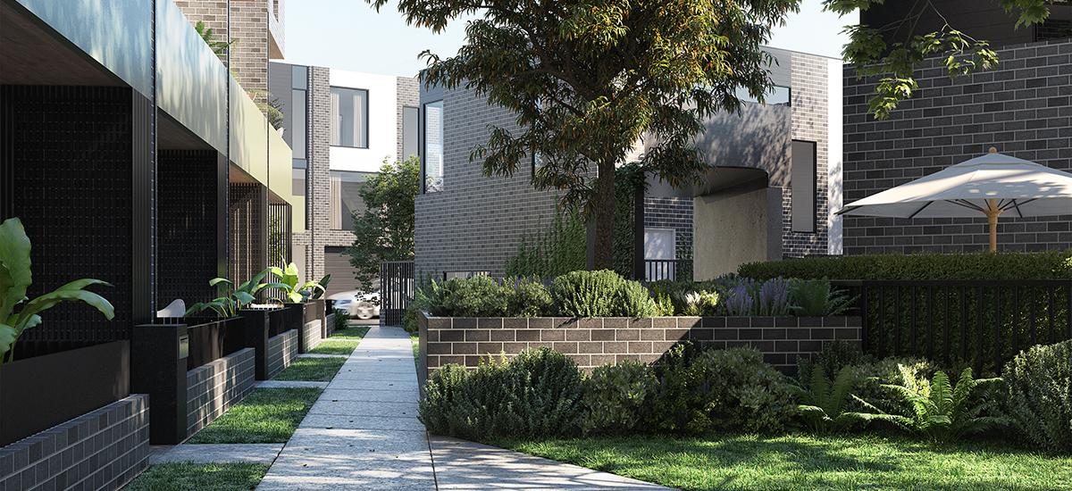 BLVD Gardens exterior gardens