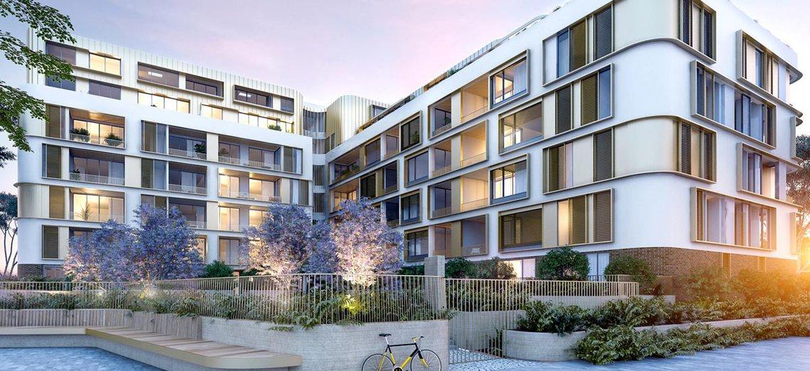 casa residences exterior apartment building art deco