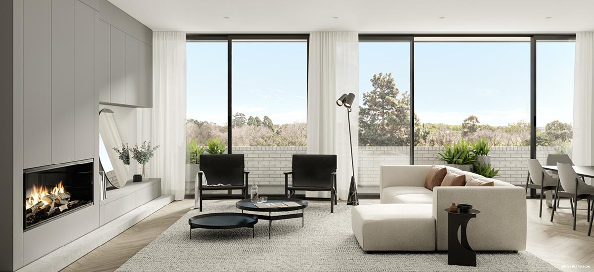 Central Park living room