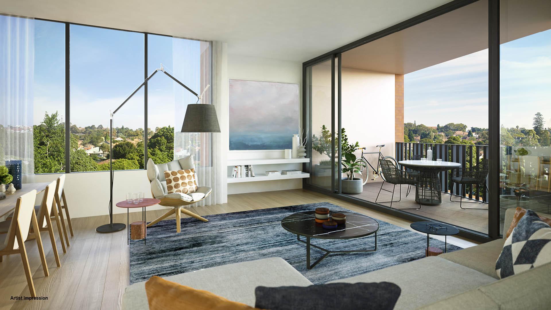 Arlington Grove living area