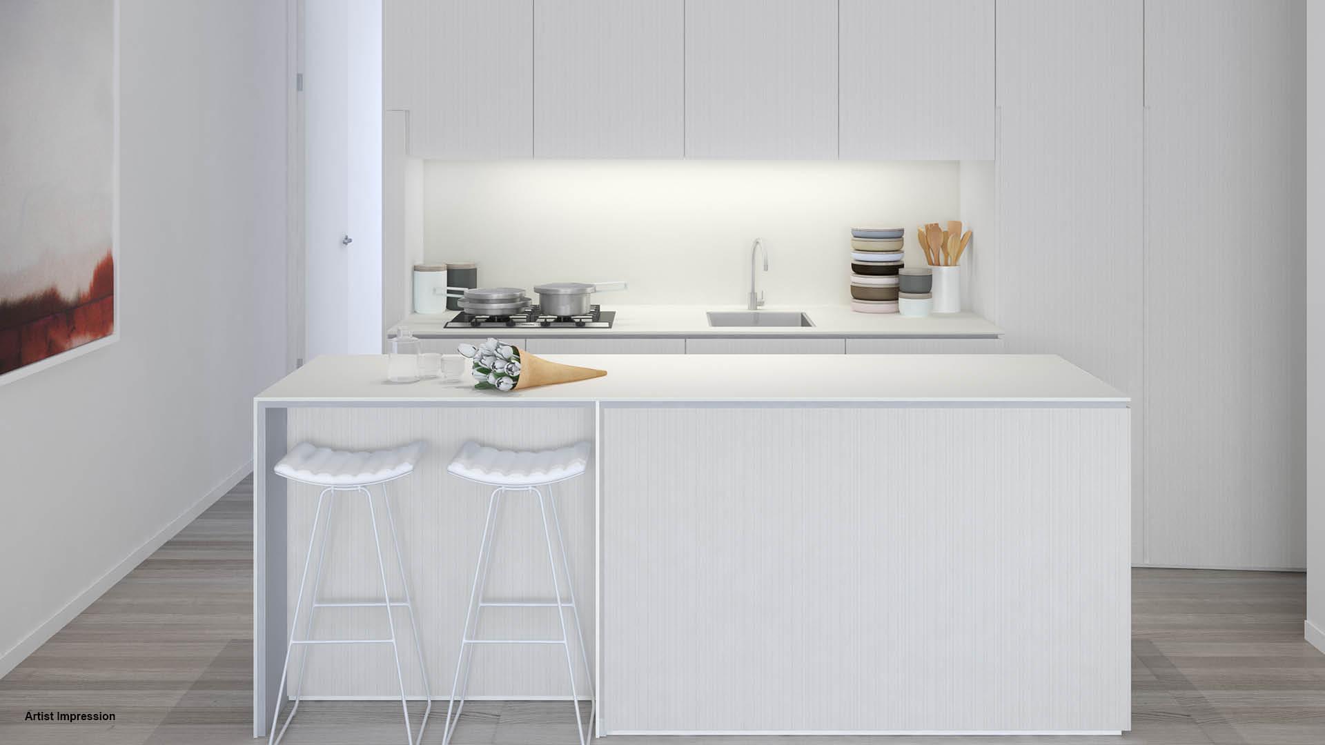 Arlington Grove kitchen