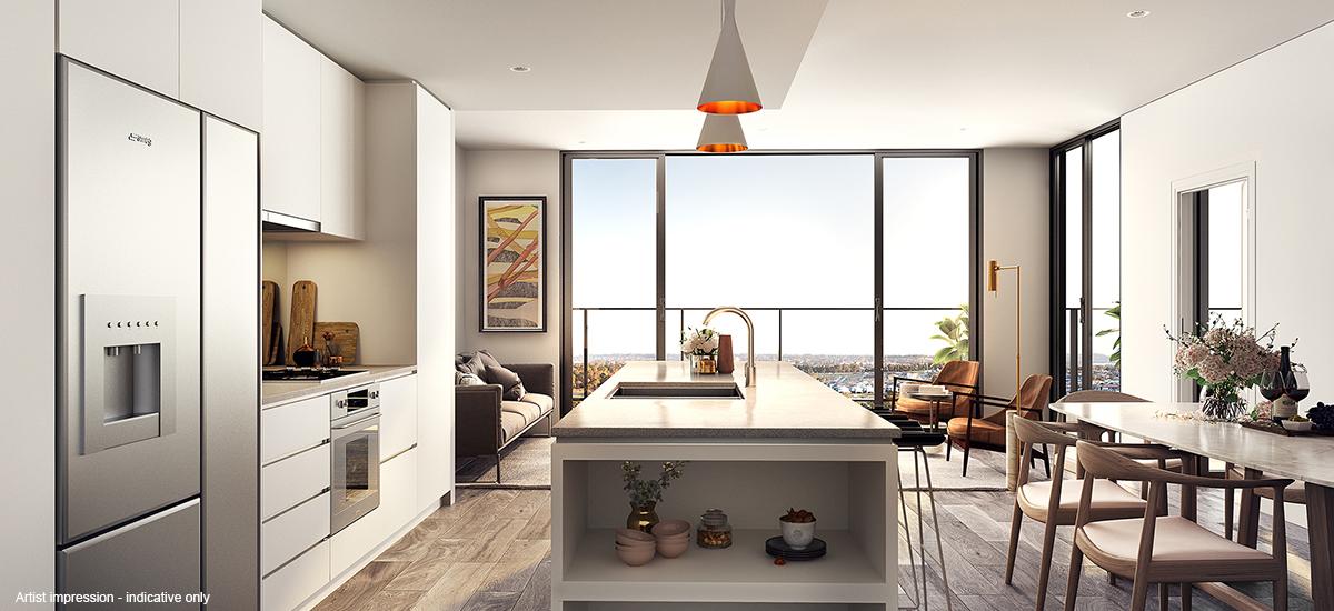 Ed.Square apartment kitchen