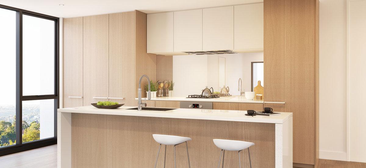 Essendon Village kitchen