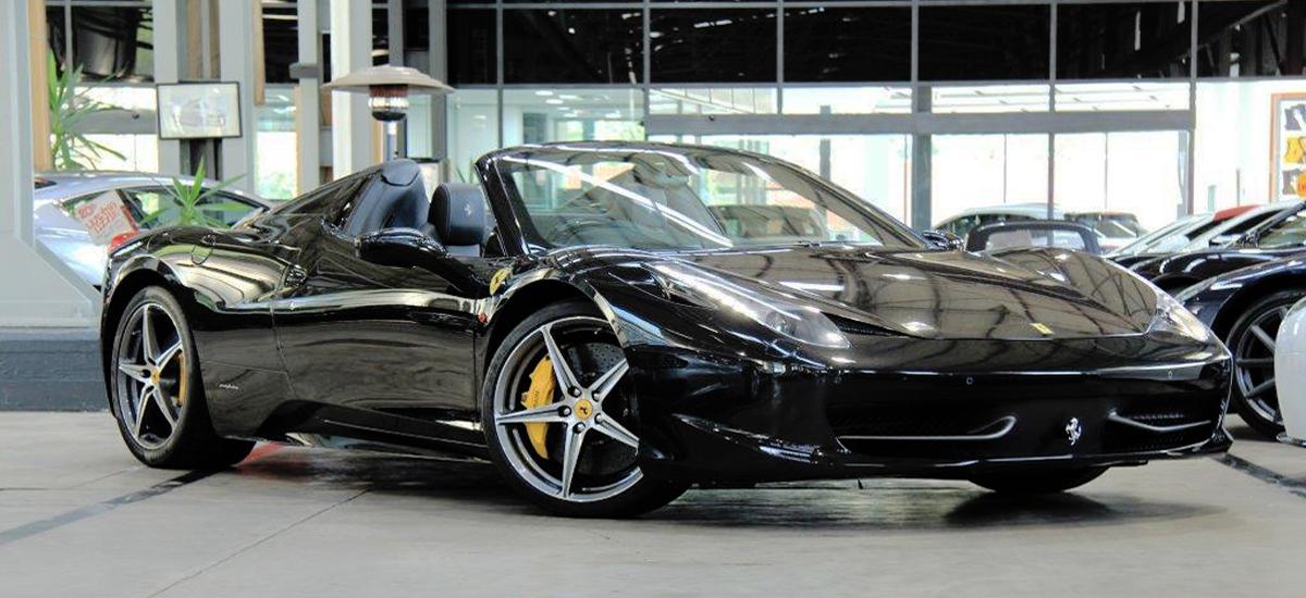 2012 Ferrari 458 Spider DCT Convertible