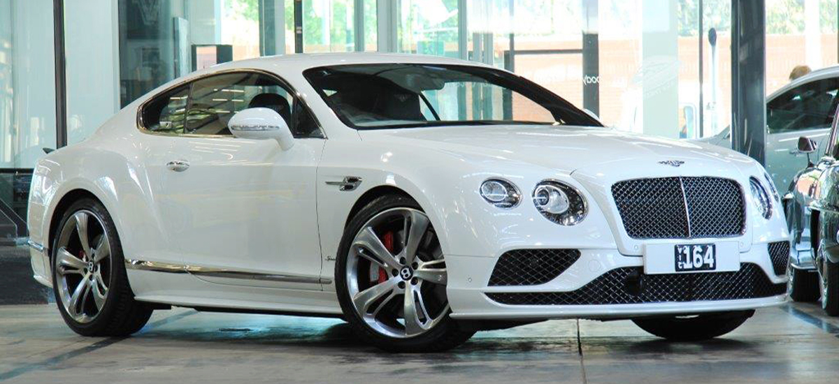 2016 Bentley Continental GT Speed Coupe