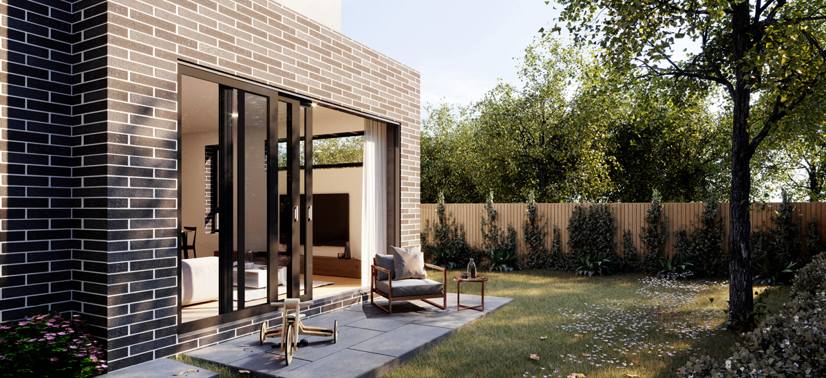 Gardenia Park courtyard
