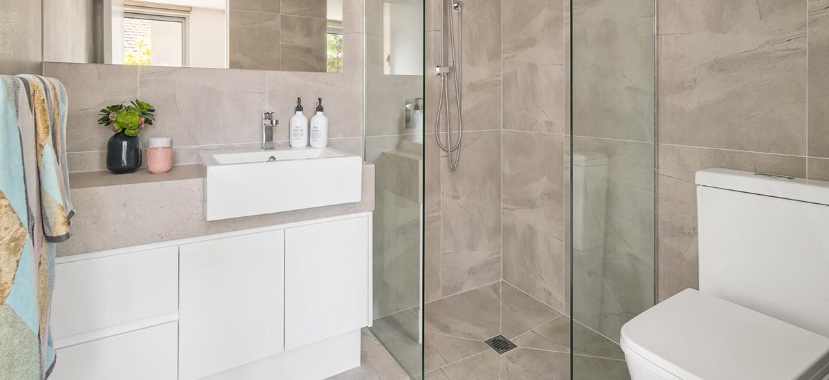 Garnet Residences bathroom