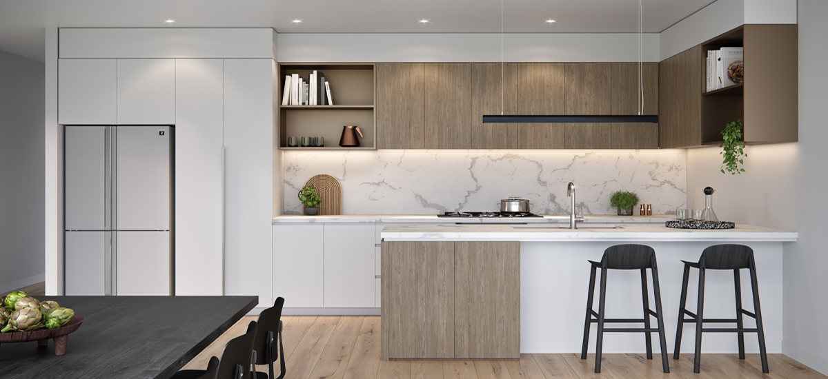 Haven Townhomes kitchen