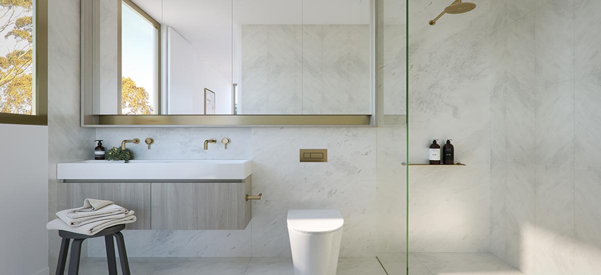 Hotham & Carlisle bathroom