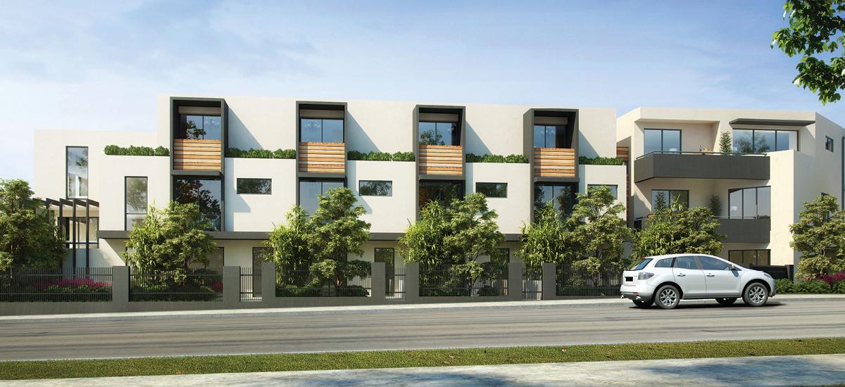 Indigo Apartments building exterior