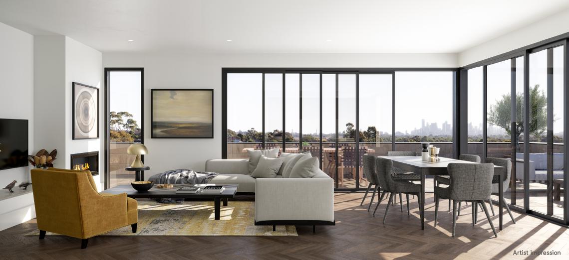 Iva Residences living room