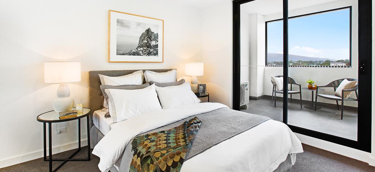 Kubix apartments bedroom