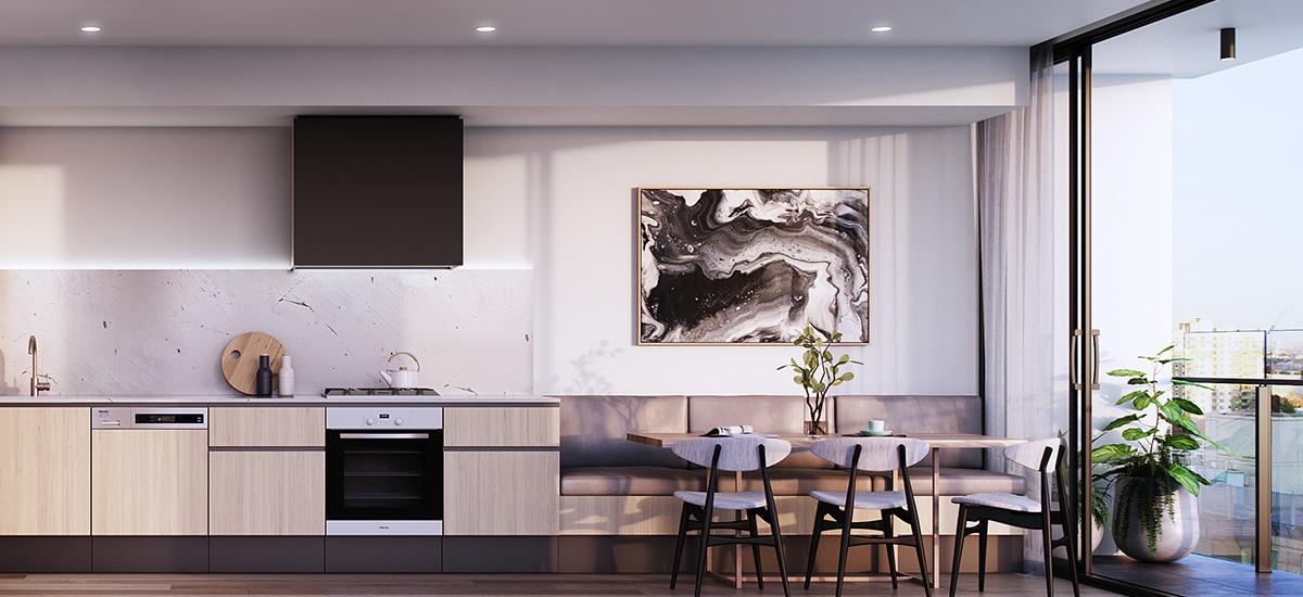 linden house apartment development south melbourne luxury