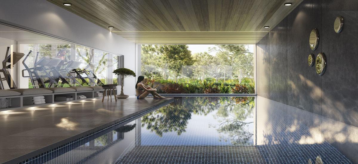 Moda pool luxury apartments in Sydney