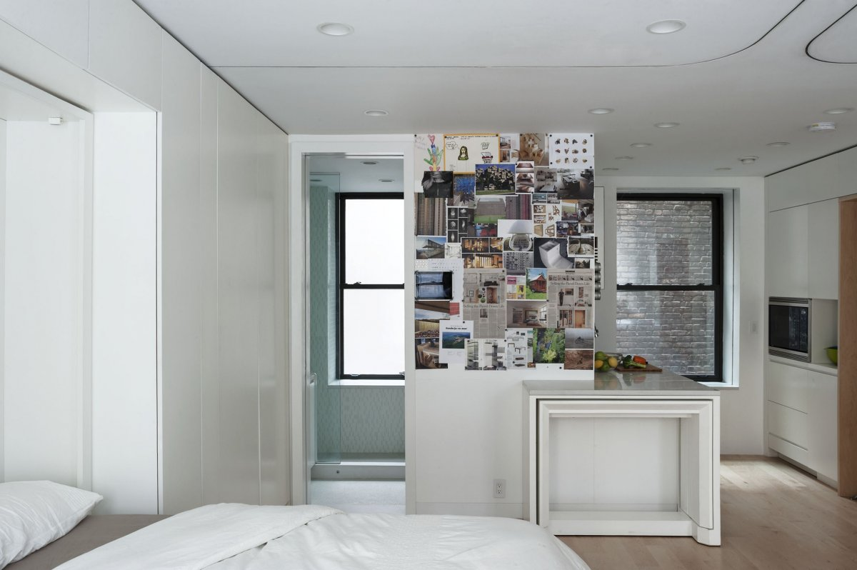 New york city tiny apartment