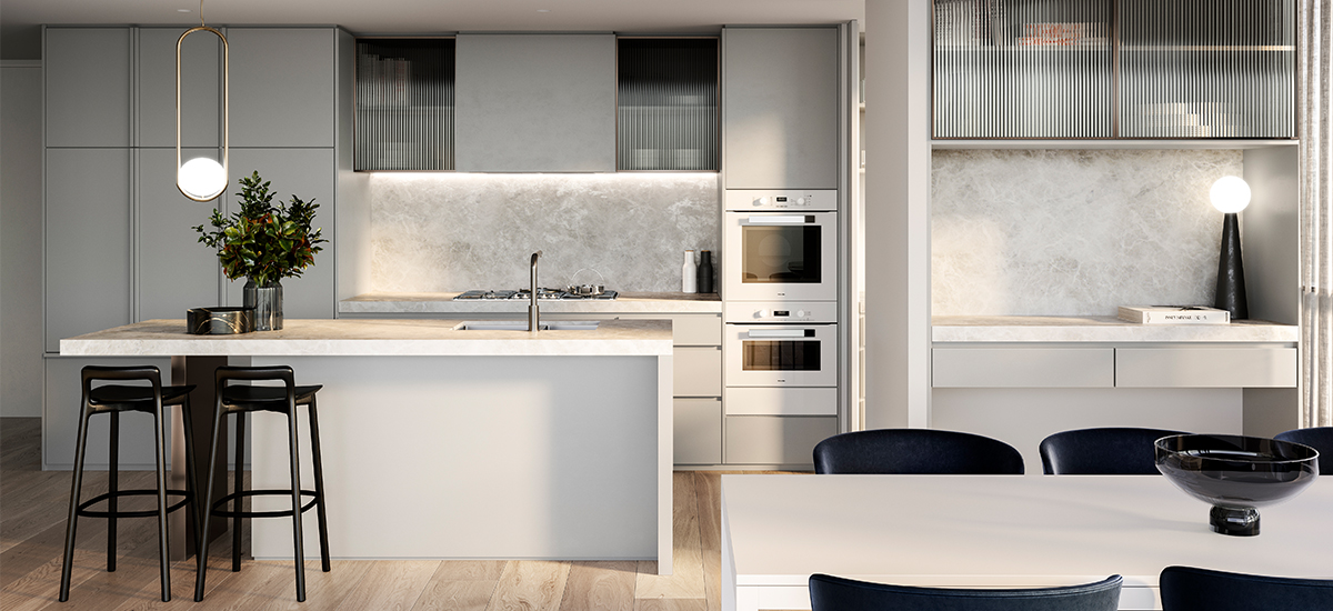 One Como kitchen