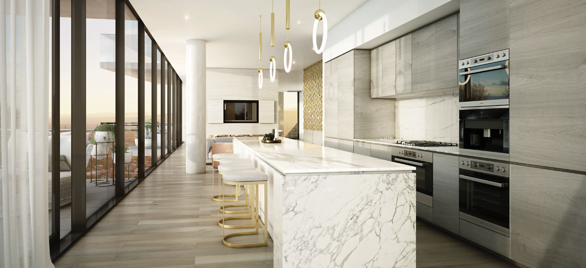 Realm Adelaide penthouse kitchen